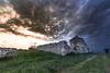 (Mauro Scozzi) Tags: mauro scozzi salento casa diroccata country roads sunset tramonto hause house stone drystones walls dry grass green clouds