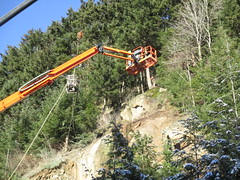 Unstable hillside stabilization (WSDOT) Tags: aep interstate5 i5 unstableslope bellingham whatcomcounty