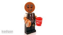 Commissioner Cookie-Face (Kadigan Photography) Tags: lego minifigure legobatmanmovie commissionergordon gingerbread cookie