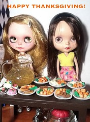 Blythe-a-Day October#13: (Canadian) Thanksgiving: Emma and Rosalind Celebrate