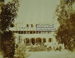 Achterzijde gouverneurshuis