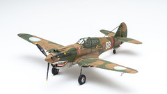 "Curtiss Hawk 81-A-2 - ""Flying Tigers"" (mr.beaver) Tags: model hawk panasonic plastic kits g3 vivitar 172 70210 flyingtigers curtiss avg mrbeaver strobist f354 1stamericanvolunteergroup 81a2 airfixa01003"