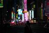 Evening in Manhattan (Lojones13) Tags: newyorkcity night canon lights manhattan timessquare eoskissx3