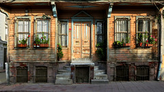 The Old House (Arthur Koek) Tags: old windows house building turkey wooden doors istanbul sultanahmet fatih windowfences
