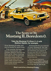1976 Ford Mustang II Stallion (coconv) Tags: pictures auto door old 3 classic cars ford car vintage magazine ads advertising cards photo flyer automobile post image photos antique postcard ad picture images advertisement vehicles photographs card photograph ii postcards vehicle autos mustang collectible collectors brochure 86 automobiles 1976 stallion dealer fastback prestige sportsroof
