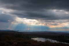 Sun Rays (john.blake89) Tags: light sun nature clouds nikon rays d300