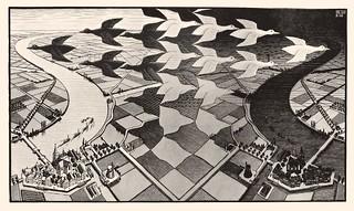 Escher - Giorno e notte