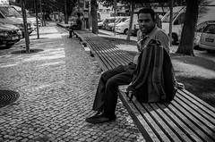 Daydreamer (richardtazw) Tags: blackandwhite candid 28mm streetphotography gr ricoh albufeira ricohgrdv