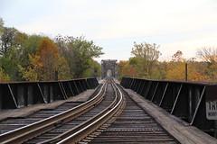 Railroad tracks (Me in Va) Tags: bridge virginia downtown traintracks richmond va 14thstreet rva jamesriver railroadtracks 14thst