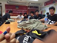 20141119 Dao Din at Khon Kaen Police Station กลุ่มดาวดินหลังโดนรวบ ที่โรงพักขอนแก่น