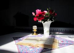 az Úr asztala / table of the Lord (debreczeniemoke) Tags: church templom churchinterior reformedchurch reformátustemplom tarpa bereg templombelső canonpowershotsx20is azúrasztala tableofthelord xvszázadeleje theearlyfifteenthcentury egyhajós egytornyos keletelt