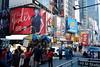 Times SQ New York (alexnova85) Tags: street new york city nyc people ny fuji manhattan times sq xm1