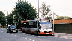 Altrincham Stamford New Road (Station House) - Summer 2014 [MX55BYF] (barbirolli) Tags: bus k minolta zoom h solo doyle dynax af streetscape altrincham 28105mm optare gha 7xi agfaphoto minoltadynax7xi independentbus ghacoaches supertravel m920 zoomxi vistaplus400 mx55byf ghagroup minoltazoomxi minoltazoomxi28105mm minoltazoomaf