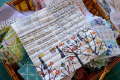 Some mug rugs for getting my quilting mojo back (balu51) Tags: oktober white liberty basket squares sewing wip quilting scraps patchwork scrappy 2014 mugrug quiltasyougo sewingbreak lowvolume textprints copyrightbybalu51