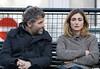 Julie GAYET Gauche sur sous: Stephane Guillon SUR-Gauche