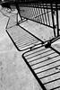 You Forget So Easily (Jeremy Brooks) Tags: sanfrancisco california shadow blackandwhite bw usa fence concrete blackwhite ferrybuilding embarcedero sanfranciscocounty