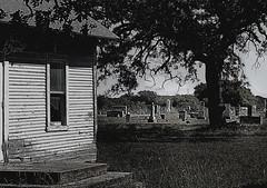 None Left (kingrat6931) Tags: blackandwhite cemeteries usa abandoned graveyards churches oldbuildings gravestones