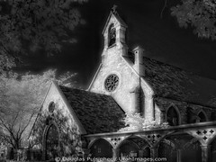Old Church at Night (Utah Images - Douglas Pulsipher) Tags: night utah ut haunted spooky saltlakecity chrurch stmarkscathedral