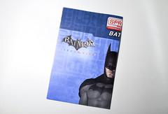 Booklet (skipthefrogman) Tags: fun toy action figure batman kit bandai spru sprukits
