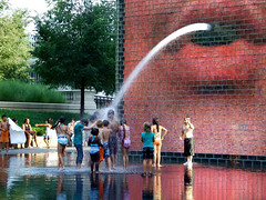"Children of all Colors under Crown Fountain • <a style=""font-size:0.8em;"" href=""http://www.flickr.com/photos/34843984@N07/15353851358/"" target=""_blank"">View on Flickr</a>"