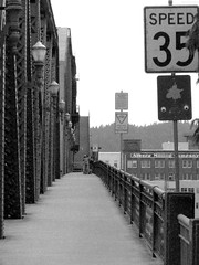 """Broadway Bridge walkway when bridge is up • <a style=""""font-size:0.8em;"""" href=""""http://www.flickr.com/photos/34843984@N07/15359470087/"""" target=""""_blank"""">View on Flickr</a>"""