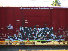 Reez (VDub (o\I/o)) Tags: california ca railroad train coast central tracks railway trains railcar valley bayarea boxcar tagging boxcars charachter ridged trackside vdub rbox railart railbox railside benching freightbums