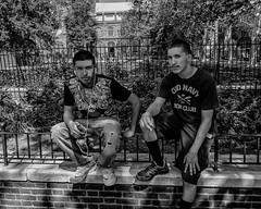 Philadelphia, 2014 (Alan Barr) Tags: street people blackandwhite bw philadelphia monochrome mono blackwhite candid streetphotography panasonic sp streetphoto marketstreet 2014 marketstreeteast gx7