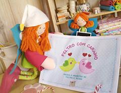 Olha, est escrito para Borboleta BoniFrati! (BoniFrati) Tags: cute diy craft livro feltro ebook tutorial pap projetos tecido moldes tutoriais bonifrati livrinho faavocmesmo