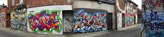 quickage-DSCN2788-DSCN2793 v2 (collations) Tags: toronto ontario graffiti poser hype fade anser phade orek mayze oreks