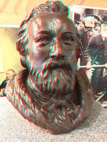 Sir Sanford Fleming (3D Anaglyph)