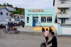 corn is drying, people are waiting. (jonas_k) Tags: travel northkorea pyongyang dprk pjöngjang