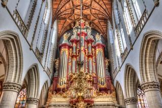 St Bavo church organ