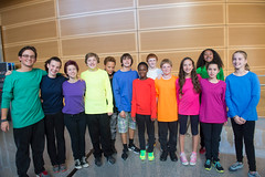 "Deaf Film Camp ""Happy"" Performance"