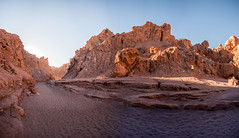 Moon Valley Canyon ([Alexandre]) Tags: chile panorama southamerica stone sandstone salt dry canyon cave