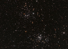 NGC 869/884 (The Double Cluster) (CSky65) Tags: clusters ngc deepspace astrometrydotnet:status=solved openclusters astrometrydotnet:id=nova885640