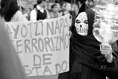 la_muerte (Gatifoto) Tags: students mxico df protest mexique demostration desaparecidos 43 marcha distritofederal estudiantes mejico escuelanormal ayotzinapa marchaenapoyoaayotzinapa