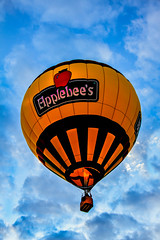 Applebee's  Hot Air  Balloon (http://fineartamerica.com/profiles/robert-bales.ht) Tags: arizona orange southwest wow spectacular restaurant photo colorful superb aircraft awesome fineart balloon scenic peaceful flame envelope gondola sensational states hotairballons inspirational hotairballoons magnificent propane yuma haybales stupendous greetingcards imperialvalley wickerbasket balloonaircraft canonshooter thermalairships southwestphotography westwetlandspark hotairballoonphotography robertbales wickerbaskethaybales coloradorivercrossing balloonswestwetlandpark coloradorivercrossing2012
