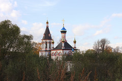ne day in Pereslavl-Zalessky. (Person Behind the Scenes) Tags: life autumn sky church russia scape orthodoxy goldenring pereslavlzalessky