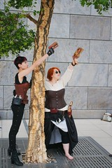 2014-03-15 S9 JB 73985#coht40s40 (cosplay shooter) Tags: x201610 400x kaylean airay id084569 id532562 cosplay cosplayer anime manga comic comics lbm leipzig leipzigerbuchmesse roleplay rollenspiel 2014090 2014091 201431 steampunk lene ina