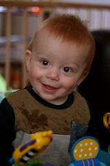 Project 365 #284: 111014 When You're Smiling (comedy_nose) Tags: ethan nephew 8monthsold smilingchild project365