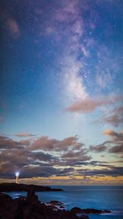 La Palma - Milky Way Sunset