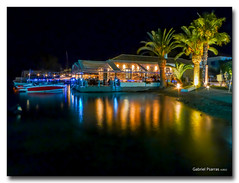 20120712_2204 (gabrielpsarras) Tags: light sea tree night boat palm spetses