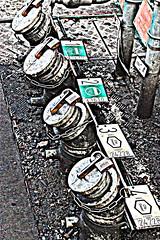 petrol pumps (Jackal1) Tags: station pumps machinery numbers petrol hdr tanker