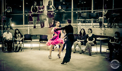 Ros in Step (IWCphoto) Tags: charity pink white black green beauty rose hair fun rouge dance chair couple dress floor audience wheelchair watch joy formal grace tango step ballroom heels salsa majestic fundraiser entertain lunge
