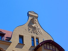 Schne Fassade in der Schweriner Altstadt... (Lullabay 61) Tags: deutschland mecklenburgvorpommern schwerin