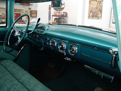 1955 Ford Fairlane Town Sedan (Hipo 50's Maniac) Tags: ford 1955 sedan town interior fairlane 4door
