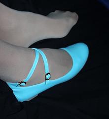 New Shoes (Christie Jane) Tags: blue tv shoes pumps cd crossdressing tgirl transgender flats sissy tranny transvestite maryjanes crossdresser crossdress gurl tg maryjaneshoes blueshoes trannie skimmers xdressing courtshoes xdress strapshoes tgurl bluemaryjanes twinstraps bluestrapshoes bluemaryjaneshoes shinyblueshoes twinstrapshoes bluetwinstrapshoes bluetwinstraps xdressresser