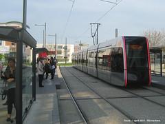 Fac 2 Lions (ernstkers) Tags: trolley tram lightrail streetcar tours tranvia elctrico tramvia citadis strasenbahn