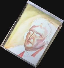 Watercolor of TJ. WIP (Howard TJ) Tags: watercolor painting workinprogress wip dibujo 614 614artists