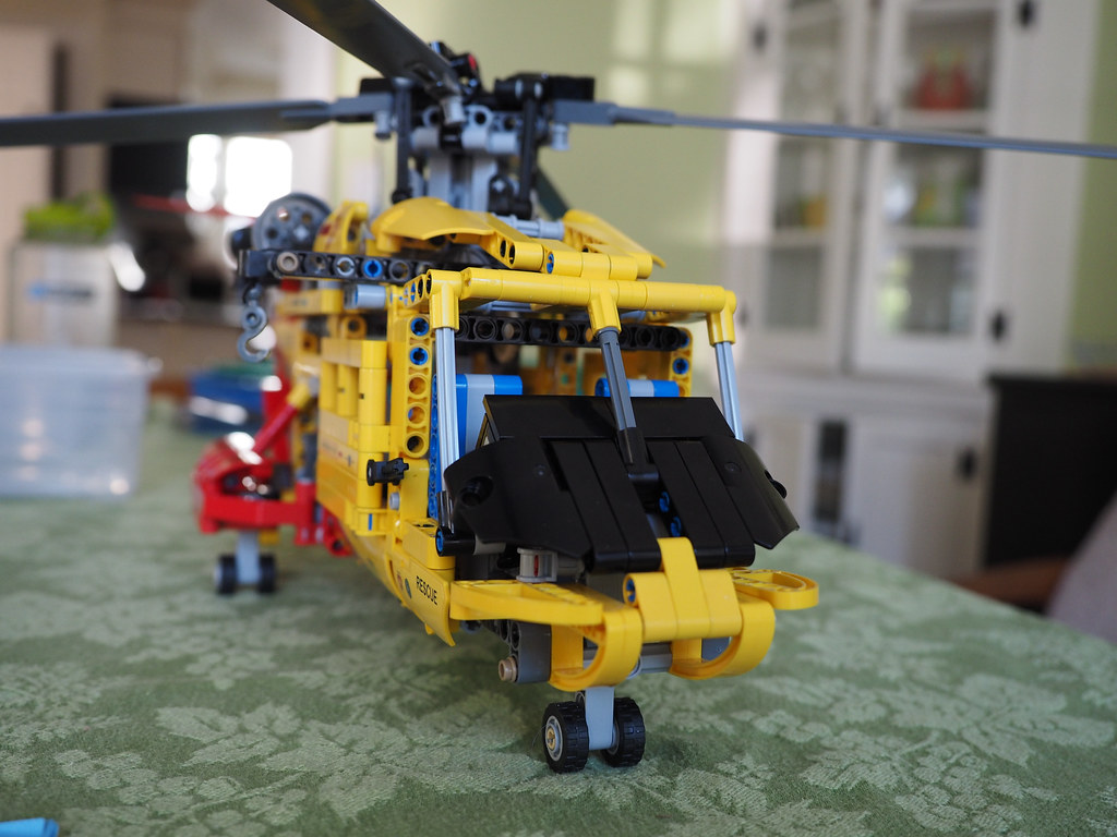 Yellow Helicopter Massachusetts